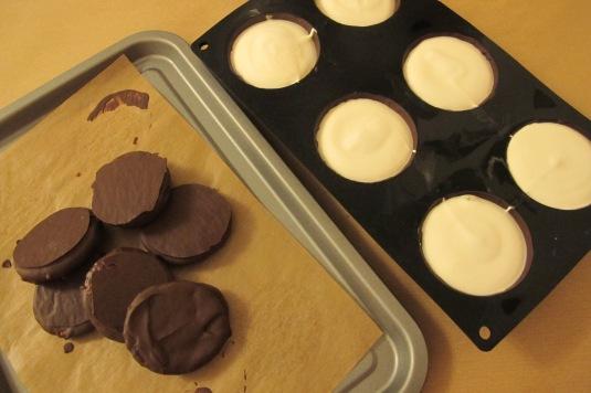 Making of chocolate teacakes!