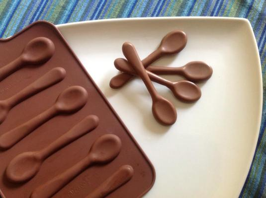 Chocolate spoons mould