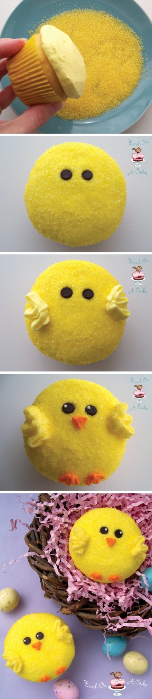 Easter cupcakes Pinterest