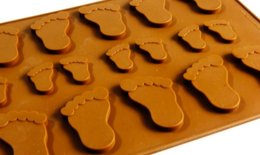 Pitter Patter Feet Mould
