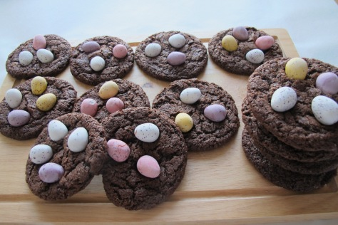 Mini Eggs Delight Cookies