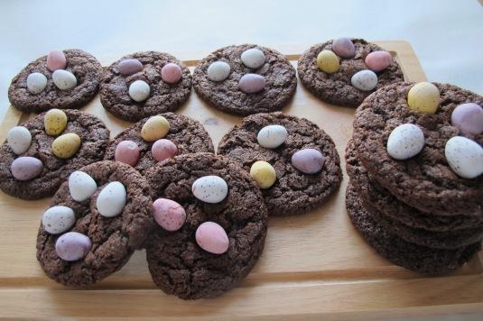 Mini Eggs Delight Cookies