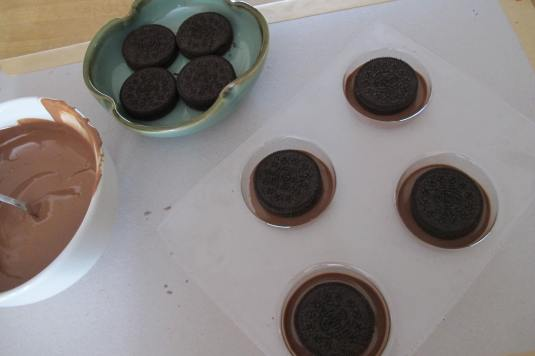 Chocolate Oreo Mould