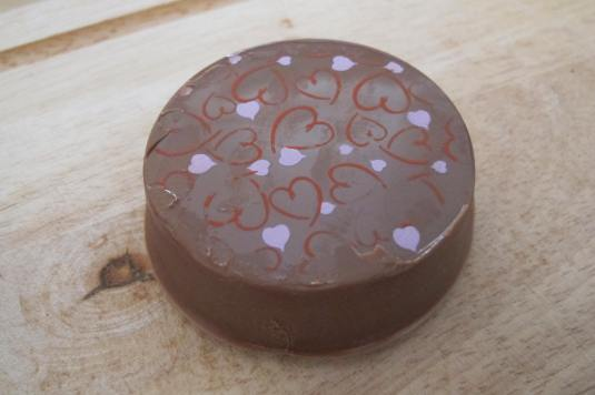 Heart prints Chocolate Covered Oreo