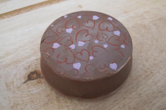 Heart prints Chocolate Covered Oreo