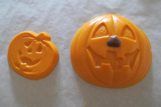 Orange Chocolate Pumpkins
