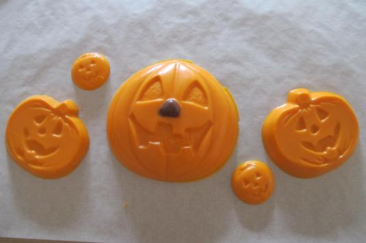 Chocolate Orange Pumpkin Family