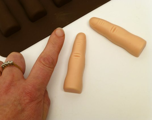 Finger chocolate