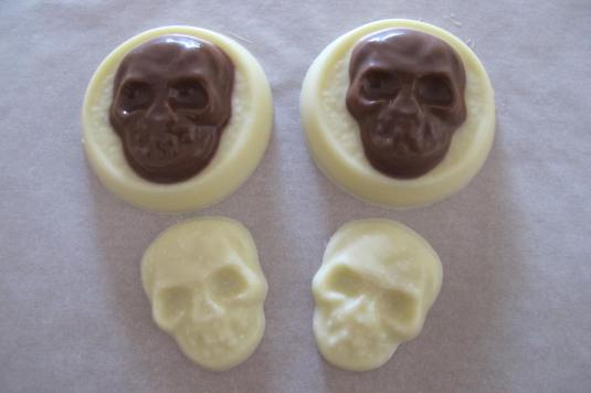 Spooky Skull Chocolates