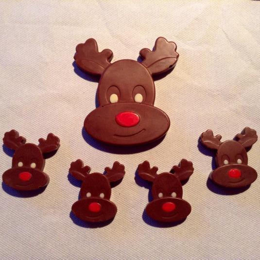 Rudolph Chocolate Reindeers by Lesley Sinclair