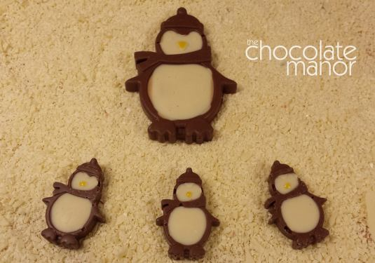 Penguins by Geri Martin with Baked By Me's mould