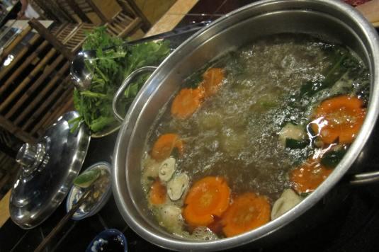 Hot Pot at Quan Nuong