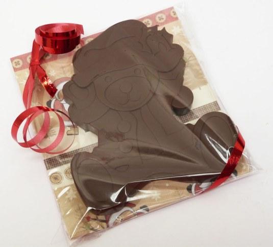 Santa Teddy Chocolate