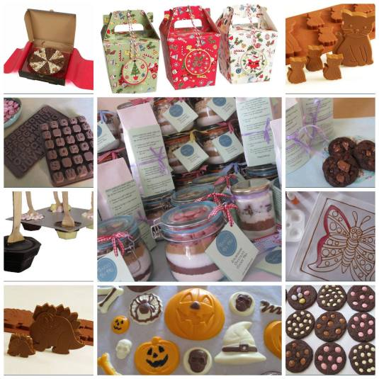 Baked By Me's goodies and baking range