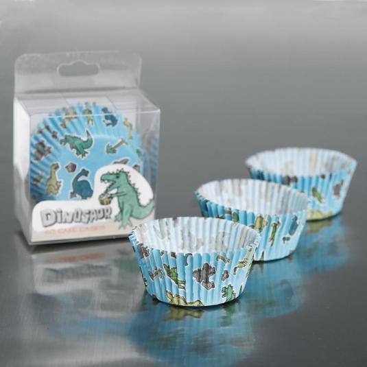 Dinosaur Cake Cases