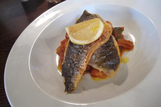 Seabass Wollaton Pub Kitchen