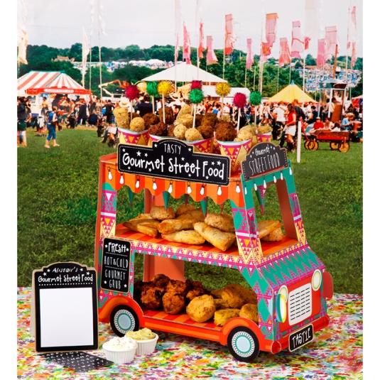 Gourmet Street Van Party Stand