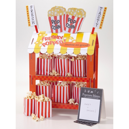 Reversible Hot Dog & Popcorn Stand