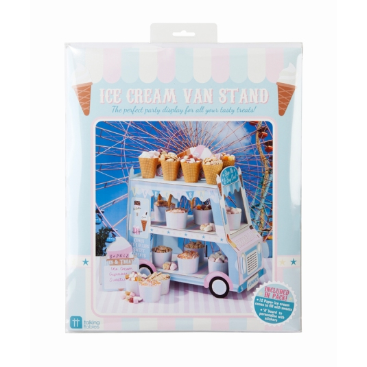Ice Cream Van Party Stand - flat packed