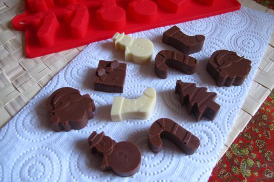 Christmas Homemade Chocolates