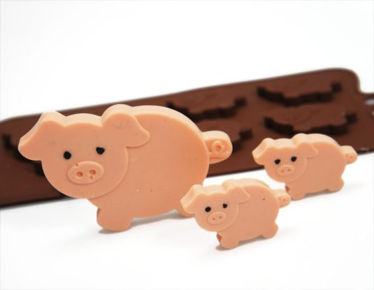 Piggy Chocolate Mould