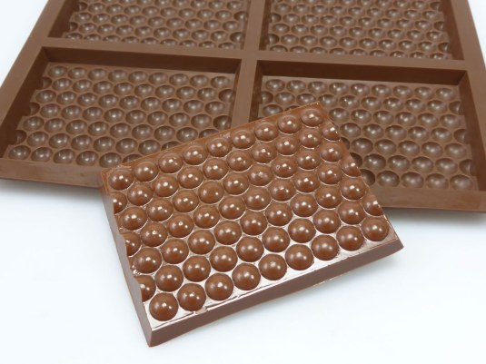 Bubble Wrap Effect Chocolate Mould