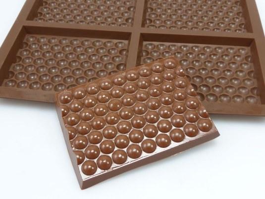 Bubble Wrap Effect Chocolate Mould