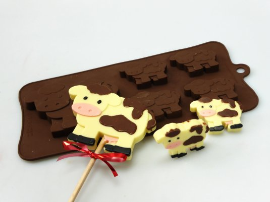 Cow Silicone Mould