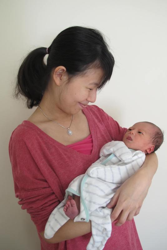 Mummy with Freya