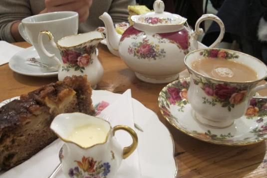 White Rabbit Tea Room Nottingham