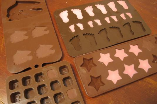 Chocolate making with Baked By Me's moulds