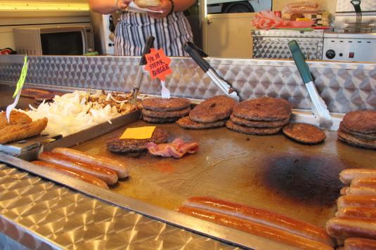 Burgers aplenty