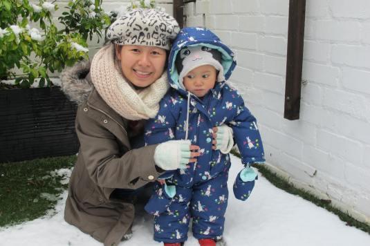 Cozy snowsuit