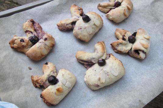 Blueberry Rabbit Scones