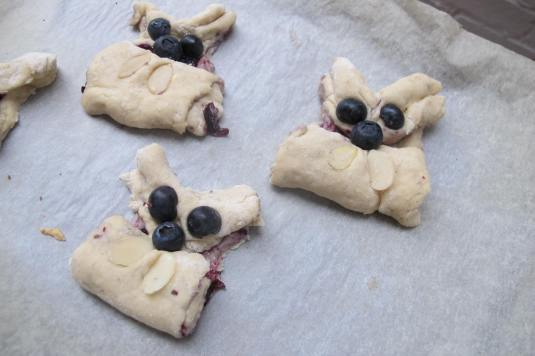 Easter Rabbit Scones