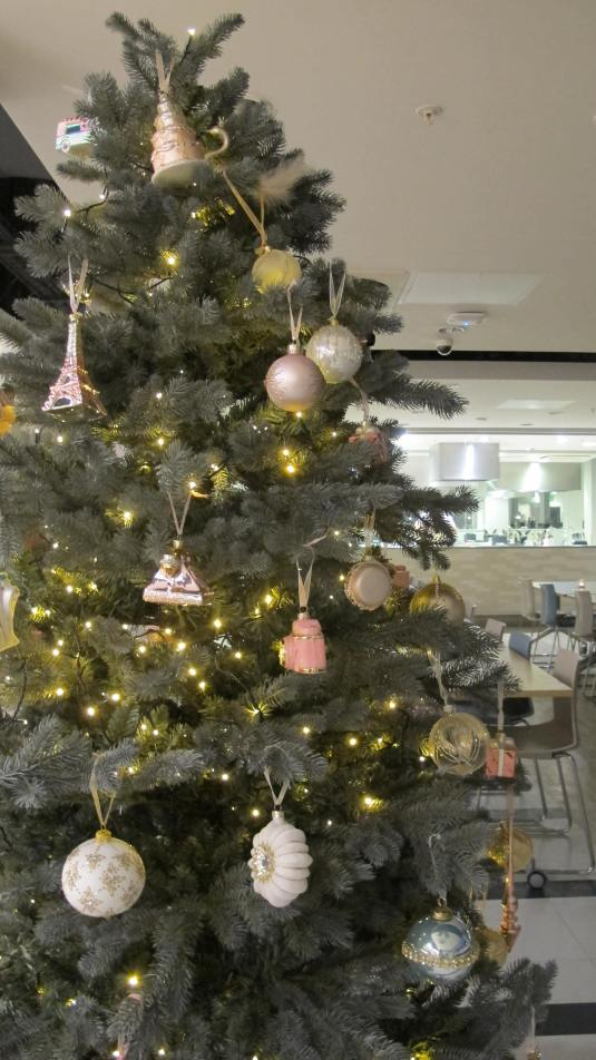 Festive ambience at the Waitrose Cookery School