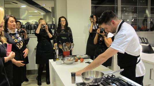 John Lewis Christmas COOK Event